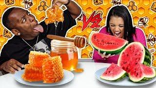 SPEED EATING FOOD CHALLENGE