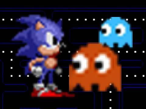 Sonic vs. Pac Man