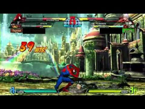 MARVEL VS. CAPCOM 3ONLINE MATCH 002