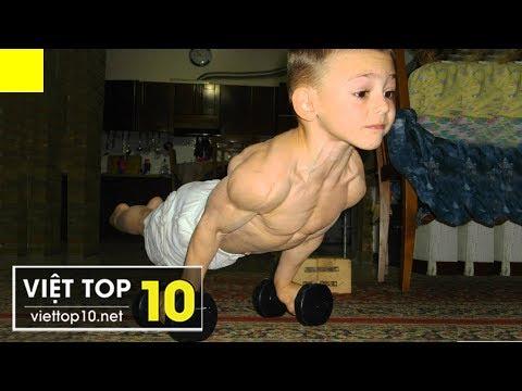 Top 4 Cậu Bé Nổi Tiếng Vì Có Cơ Bắp Cuồn Cuộn Như Lực Sĩ