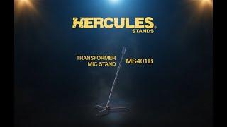 Hercules MS401B Transformer Mic Stand thumbnail