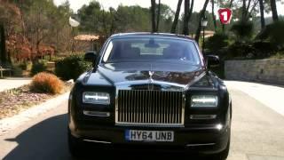 «Перший тест» Rolls Royce Ghost & Rolls Royce Phantom. Первый Автомобильный канал.
