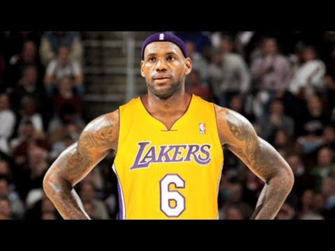 Lebron James to the Lakers?