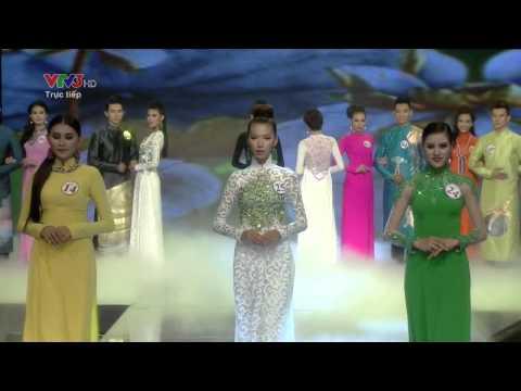 Siêu mẫu Việt Nam 2013   Phần thi áo dài