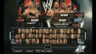 WWE SmackDown Vs. Raw 2011 Goldberg Vs. Triple H, Batista