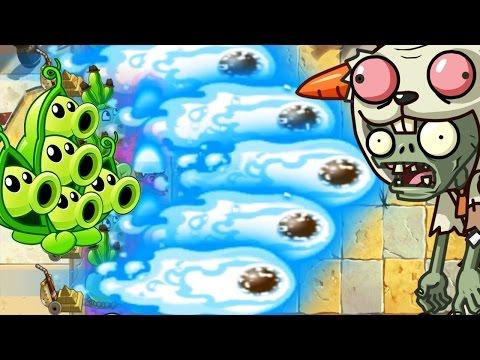 Plants Vs Zombies 2: Max Level Peashooter Challenge! PvZ 2