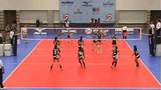 2008 Girls Volleyball Junior Olympics Set 2 13 National