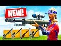 Sniper Shootout Game Mode w/ New Heavy Sniper! (Fortnite Battle Royale)