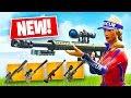 Sniper Shootout Game Mode w/ New Heavy Sniper! (Fortnite Battle Royale)
