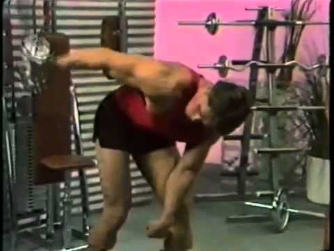 Arnold schwarzenegger ARM TRAINING!
