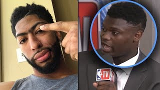 """Zion Williamson Tells Media """"TRADE ME TO THE KNICKS OR IM NOT PLAYING!"""