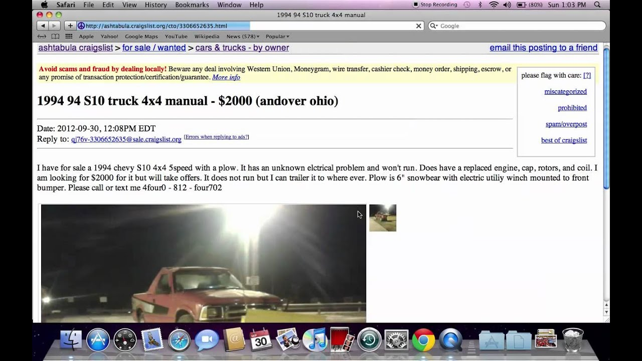Cars For Sale In Ashtabula Ohio Craigslist
