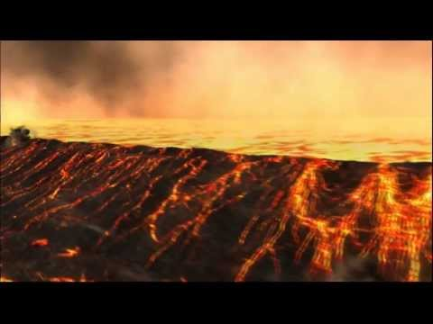 Земля, уничтожаемая 500км метеоритом!