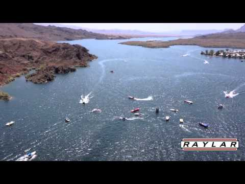 Desert Storm Poker Run Speed Boat Crash