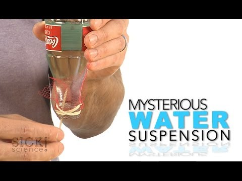 Mysterious Water Suspension - Sick Science! #176