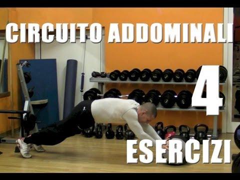 Circuito Addominali con 4 Esercizi - Personal Trainer #37