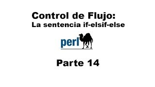 Perl tutorial. Parte 14