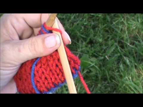 Slip Stitch Knitting Edge : No Twist, Slip Stitch Edging for Double Knitting - YouTube