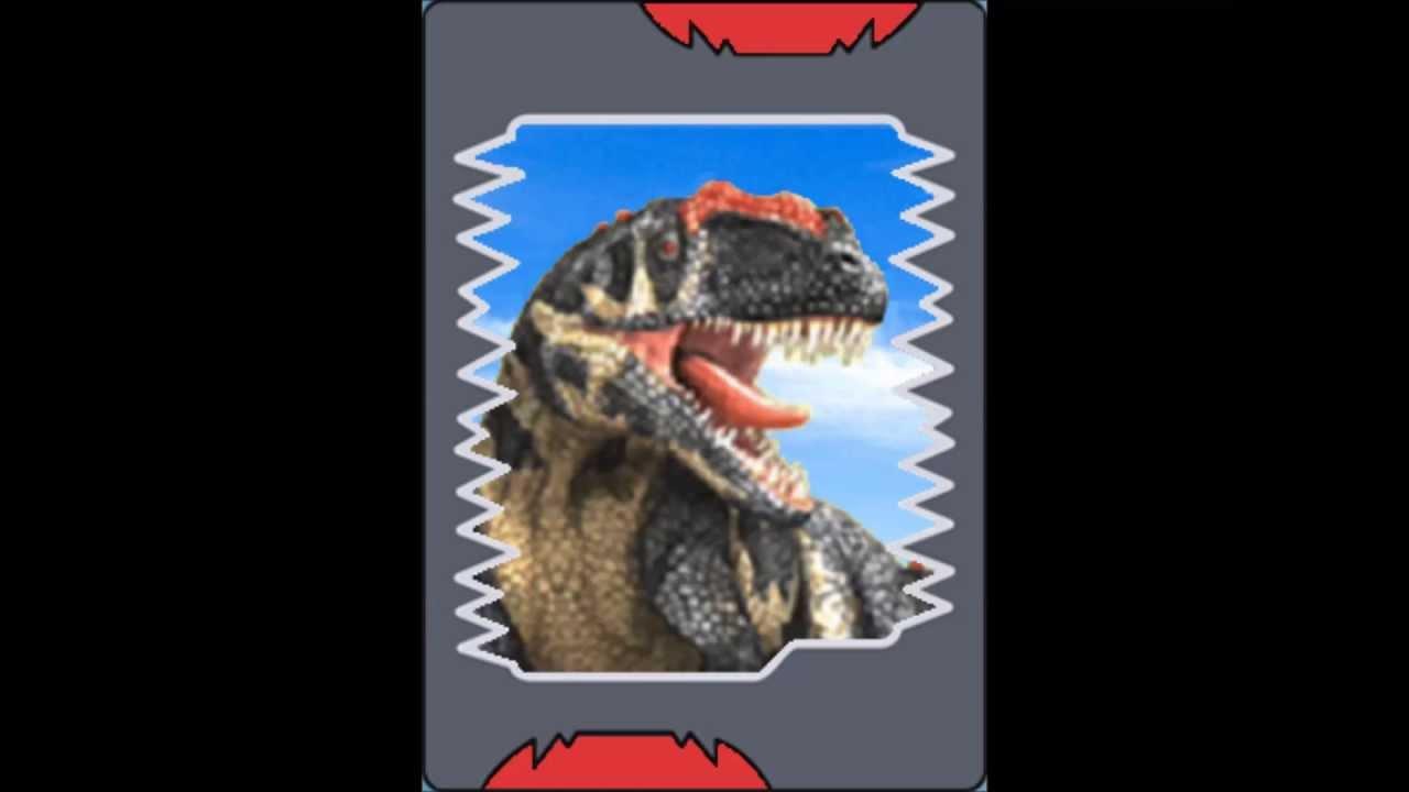 Todos os cart es de dinossauros do dinosaur king youtube - Carte dinosaure king ...