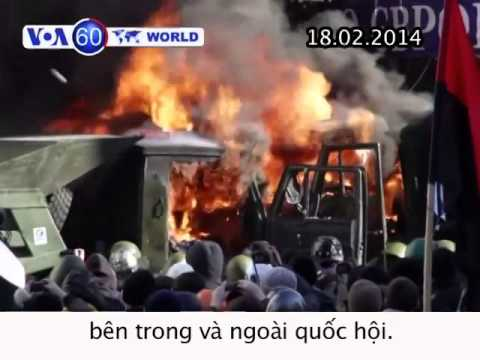Thái Lan: Biểu tình chống chính phủ biến thành bạo động (VOA60)