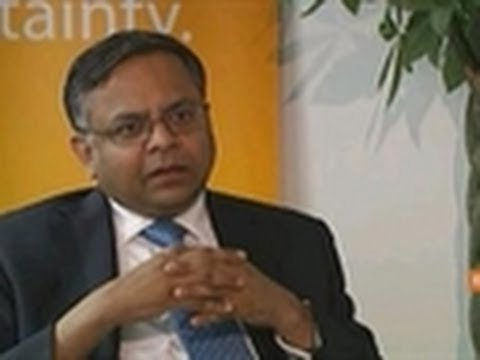 Tata Consultancy CEO Says Cloud Will Be Growth Driver - YouTube