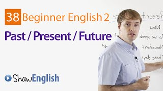 Time Expressions, Expressing English Past Present Future, Beginner 2, Lesson 37