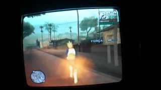 Gta Dragon Ball Z Ps2 :vegeta Furiosíssimo