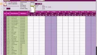 Aplikasi Penggajian Dengan Microsoft Excel ( Payroll