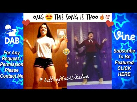 THE BEST HIT THE FLOOR LIKE TAE Challenge Dance Compilation #hitthefloorliketae