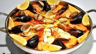 Paella de Marisco – Panlasang Pinoy