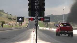 1/4 Mile Drag Race Day 4 Of Diesel Power Challenge 2014