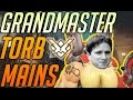 GRANDMASTER TORBJORN MAINS Ranked Overwatch