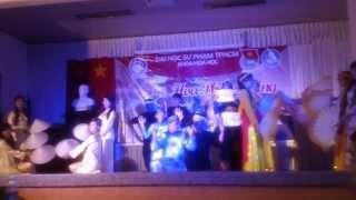 múa dân ca ba miền hóa K36B ĐHSP