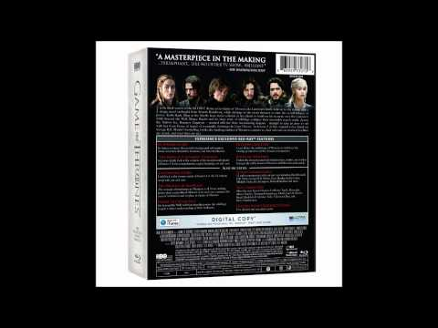 Coffret Blu Ray Game of Thrones Critique Blu-ray Game of