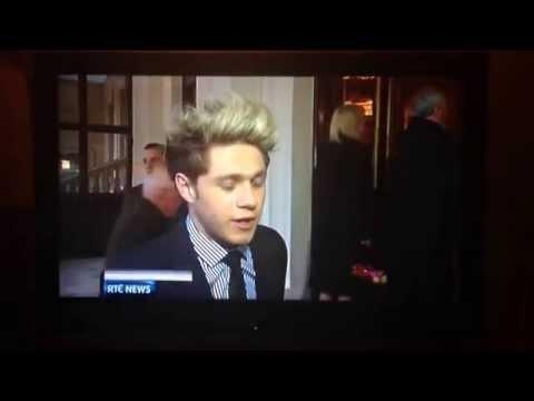 Niall Horan on RTE News 25/03/2014