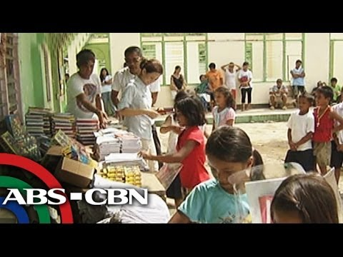 School supplies reach students in secluded town in Leyte
