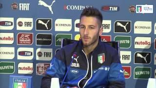 """Bertolacci: """"In Italia molta pressione sui giovani"""" - 11 Novembre 2014"""