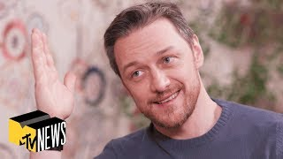 James McAvoy On 'Glass', The Future Of X-Men & 'It: Chapter 2' | MTV News