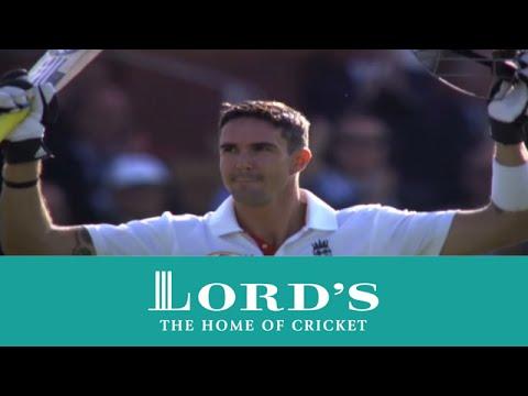 Kevin Pietersen batting at Lord's - 202* v India 2011