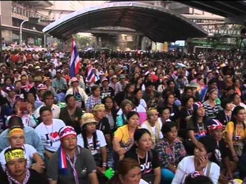Video Thái Lan mở chiến dịch bắt các thủ lĩnh biểu tình