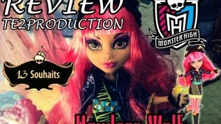 Review Monster High 13 Wishes Howleen Wolf (13 Souhaits
