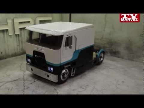 Модель грузовика своими руками