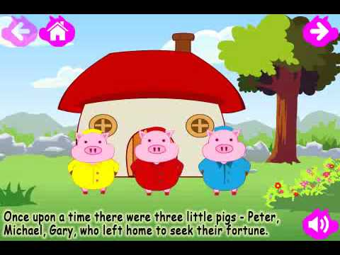 The Three Little Pigs (Kids Story Book) v1.0 for iPhone & iPad