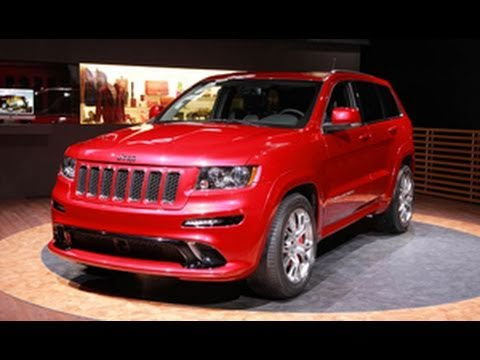 2012 Jeep Grand Cherokee SRT8 @ New York Auto Show