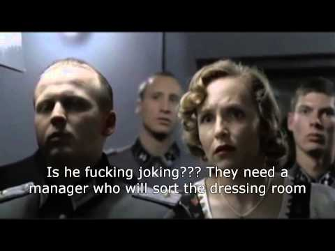 Hitler finds out about the Alan Irvine appointment