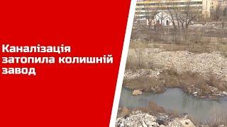 Каналізація затопила колишній завод у Рубіжному