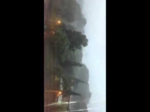 Vídeo Chuva forte com granizo atinge São Carlos