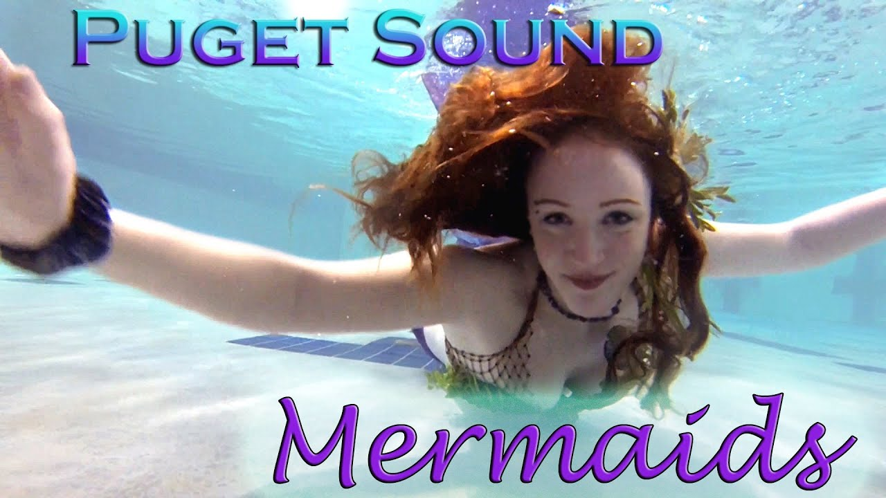 Puget Sound Mermaids Mermaids Swimming In A Pool In Tacoma Youtube