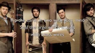 """I Gave You All"" - Mumford & Sons (Official Lyrics)"