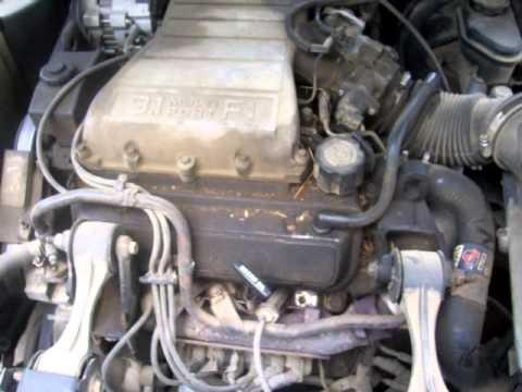 1991 chevy lumina euro 3.1L engine - YouTube